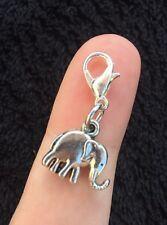 Indian Elephant Bracelet Charm Clip Purse Bohemian Africa Animal Lover Ganesh :)