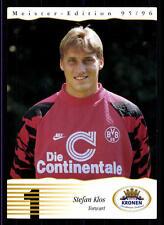 Stefan Klos Kronen Autogrammkarte Borussia Dortmund 1995-96 TOP +A53206 OU