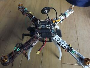 DJI Flame Wheel F450 Multi-Rotor Frame  w/ motors, Radio Telemetry kit