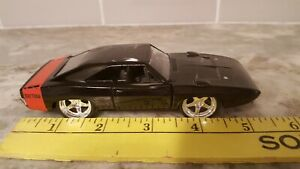 black dodge model car 1/32 scale