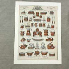 Lithograph Advertising Original Art Prints