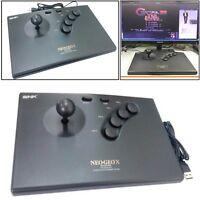 NEOGEO Arcade Spiel Controller Joystick + USB Kable Für NEOGEO X Console & PC