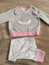 Girls Disney Frozen Elsa fleece Pyjama Set  Nightwear twoies 3-8 Years