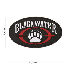 AIRSOFT morale patch  Patch 3D PVC Blackwater