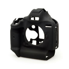 easyCover Silicone Skin Camera Armor Case to fit Canon 1Dx MkI MkII DSLR - Black