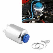 Alloy Car Racing Fuel Power Steering Fluid Reservoir Breather Tank Universal Kit