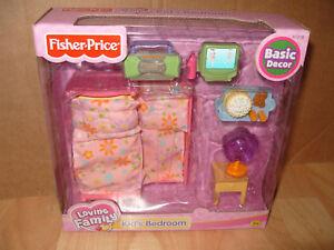 FISHER PRICE LOVING FAMILY KIDS BEDROOM V Rare