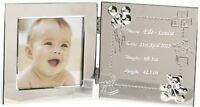 Engraved Baby Data Photo Frame Personalised God Daughter - Goddaughter Gift