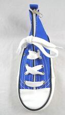 Blue SNEAKER PENCIL CASE Pouch Converse-Style Lace Up