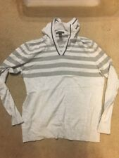 Mens Large INC International Concepts Long Sleeved Hooded Gray Sweater