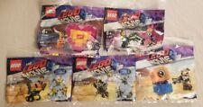 LEGO MOVIE 2 Polybags 30527 30528 50529 30340 & 30460 Emmet Rex MetalBeard Lucy