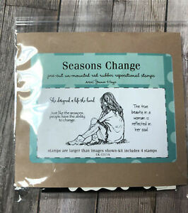 Unity Stamp Set--Seasons Change--New in Package/Never Used