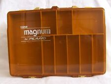 Magnum by Plano 1122 Storage Fishing Tackle Organizer Box Double Sided