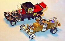 "MUNSTERS KOACH & DRAGULA COLLECTIBLE DIORAMA CAR SET of 2 ""FREE SHIPPING!"""