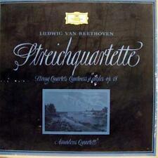 AMADEUS QUARTETT beethoven streichquartette op. 18 3 LP Mint- GERMAN