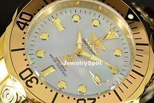 Invicta 16033 Gents 47mm Gold Steel Bracelet & Case Automatic Date Watch
