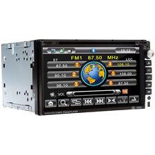 "6.95"" HD SCREEN DOUBLE 2 DIN CAR DVD PLAYER STEREO RADIO BLUETOOTH SD USB MP3 UK"