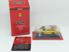 Kyosho 1:64 - Minicar Collection Moulé sous Pression Ferrari F40 Jaune/Jaune