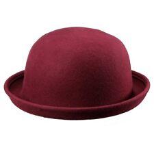 Sombrero de fieltro de Lana / fieltro con bordes Campana para Mujer Hombre Cupul