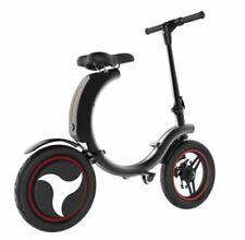 Electric Bicycle Commute Mini Electric Bike 14inch 450W Mini Foldable Black