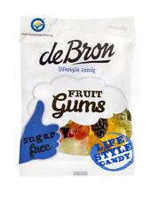 De Bron Fruit-Gums Fruchtgummis Zuckerfrei 100 g