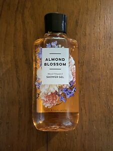 Bath And Body Works Almond Blossom Shower Gel NEW 10 Fl Oz Full Size