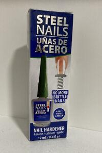 Endurecedor De Unas / Nail Hardener Unas De Acero / Steel Nails With Keratin...