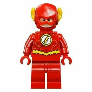 LEGO DC Super Heroes THE FLASH Minifigure - Split from 76098 (Bagged)