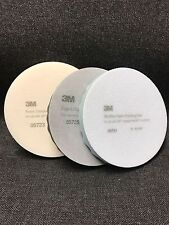 3M Perfect-It Foam Buffing Pads 3M-05723,05725,05751 (1 Pad each) (3 Pads Total)