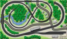 T Gauge Track Plan 8: Countryman (TP-8)