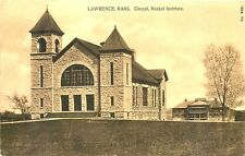 LAWRENCE KANSAS, HASKEL INSTITUTE CHAPEL, VINTAGE POSTCARD