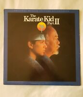 KARATE KID 2 SOUNDTRACK LP OST NM Peter Cetera FAST SHIPPING!