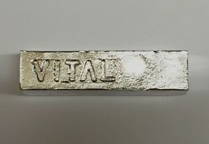 Indium Metal Bar Ingot 99.99% 4N Pure 453g (appox. 1/2 kg./1 lbs)