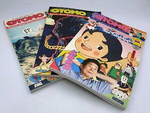 Rockyrama Annual Magazine Otomo lot 1 à 3
