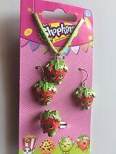 Shopkins Jewelry Set Featuring Strawberry Kiss