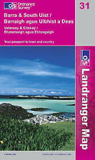 USED (VG) LR031 Barra and South Uist, Vatersay and Eriskay (Landranger Maps) (OS