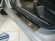 PEUGEOT 407 2004-2010 Stainless Steel Door Sill Guard Cover Scuff Protectors