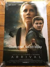 Arrival DS Theatrical Movie Poster 27x40