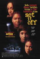 Set It Off Movie POSTER 11 x 17 Jada Pinkett Smith, Queen Latifah, A