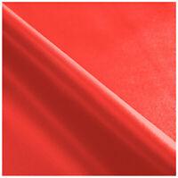 Tessuto ecopelle rosso al metro su misura h140 cm rivestimento pelle finta rossa