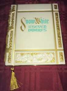 Disney Snow White and the Seven Dwarfs Storybook Replica Journal NEW