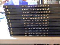 Vintage Nautical Quarterly vols.. 28 -29- 30-31-32-33-34-35-36-37-38-39-as a lot