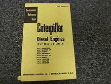 Caterpillar Cat D337 D326 & DW 20 21 15 Engine Shop Service Repair Manual