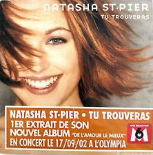 Natasha St-Pier CD Single Tu Trouveras - France (VG+/VG+)