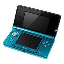 Nintendo 3DS Aqua Blue Very Good Portable System 9Z