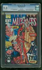 CGC 9.8 NEW MUTANTS #98 MARVEL COMICS 2/1991 1ST APPEARANCE DEADPOOL WADE WILSON