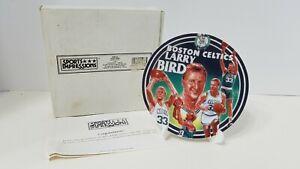 1995 Sports Impressions Larry Bird NBA Boston Celtics Mini Plate NIB