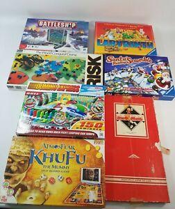 Board Game Bundle Joblot Risk Atmosfear Battleship Labyrinth Domino Express