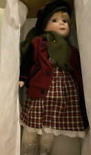 Heritage Signature Collection Porcelain Traveling Alexandria Doll Item 12324