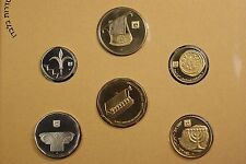 1994 Israels 6 Coin Official American Jewery The Liberty Connection Mint Set